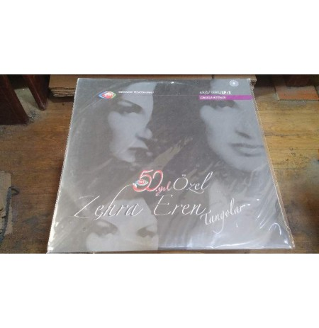 ZEHRA EREN TANGOLAR LP (PROMO CD İLE)  PLAK