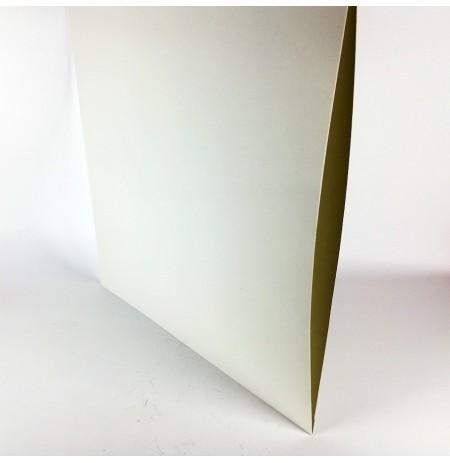 LP Karton 3mm Körüklü Kapak (Beyaz) (5 adet)