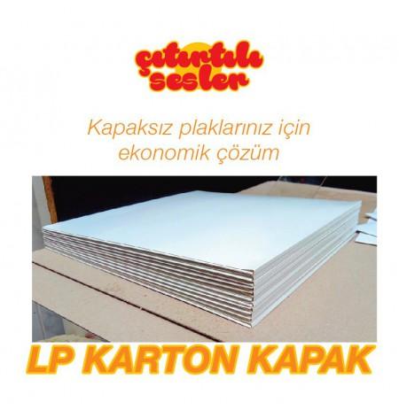 LP Karton 3mm Körüklü Kapak (Beyaz) (5 adet Kargo Dahil