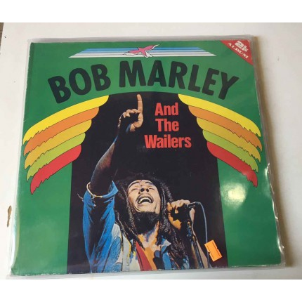 BOB MARLEY AND THE WAILERS PLAK