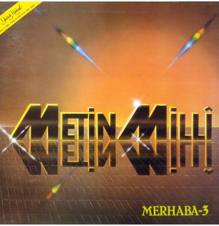 METİN MİLLİ MERHABA - 3 1985 LP.