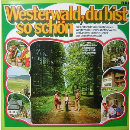 WESTERWALD DU BIST SO SCHON KARMA LP. PLAK