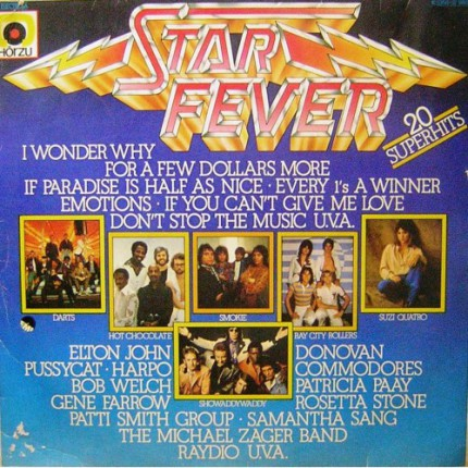 STAR FEVER KARMA POP LP. PLAK