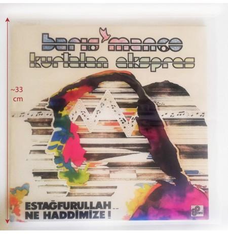 Koruma Naylonu (LP Açılır kapak versiyon - 50 adet Kargo Dahil)