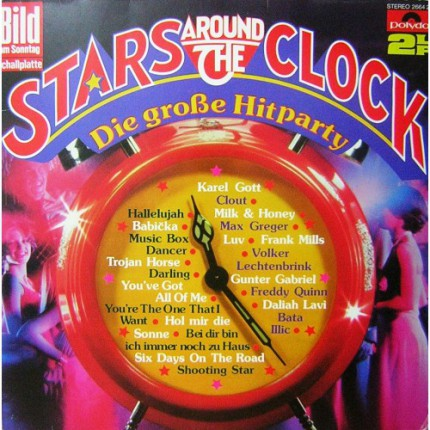 STARS AROUND THE CLOCK KARMA POP DOUBLE  LP. PLAK