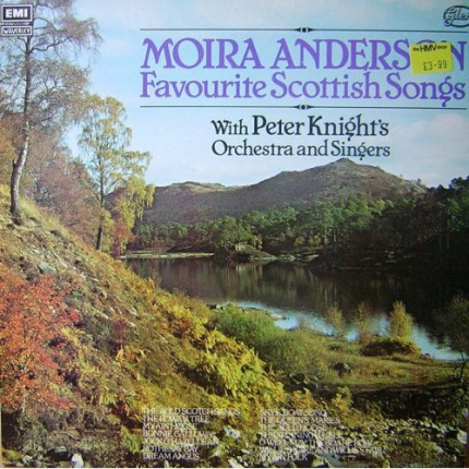 MOIRA ANDERSON FAVOURITE SCOTTISH SONGS LP.