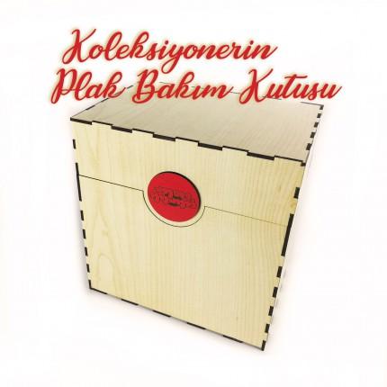 Koleksiyonerin Plak Bakım Kutusu ( 8 Ürün Kargo Dahil )