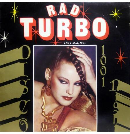 R.A.D.TURBO DISCO 1001 LEILA DOLLY DOTS 80'ler KARMA DISCO LP.