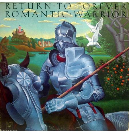 RETURN TO FOREVER ROMANTIC WARRIOR 1976 LP.