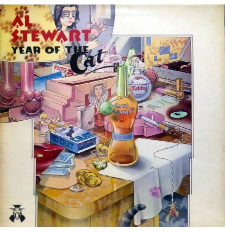 AL STEWART YEAR OF THE CAT 1976 LP.