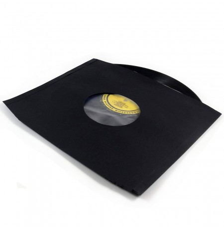 LP Zarf (Antistatik Kaplamalı, Siyah - 20 adet Kargo Dahil)