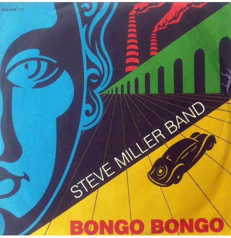 STEVE MILLER BAND BONGO BONGO ~ GET ON HOME