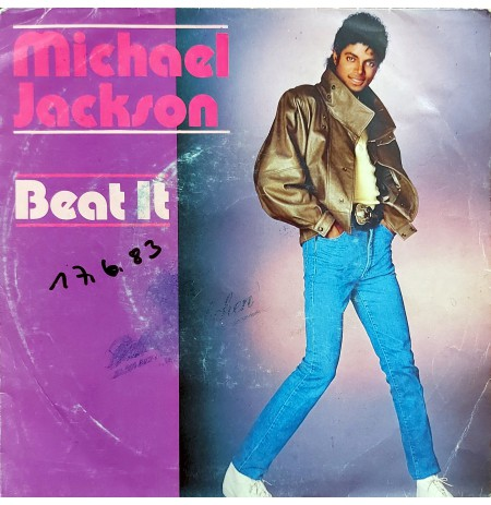 """MICHAEL JACKSON BEAT IT ~ GET ON THE FLOOR (from the album """"OFF THE WALL"""""""