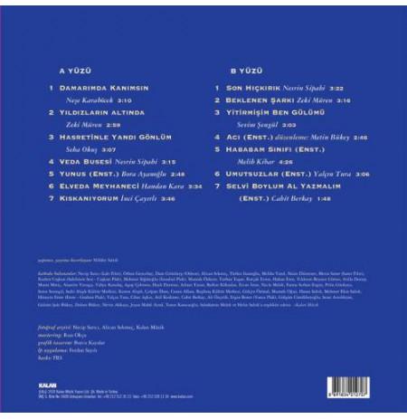 YEŞİLÇAM ŞARKILARI -3 (Yıldızların Altında)  LP.