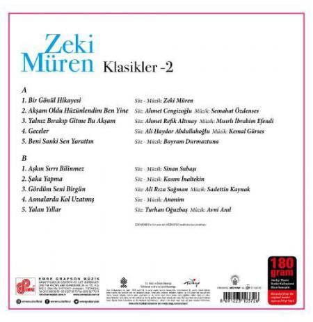 ZEKİ MÜREN KLASİKLER-2 LP.