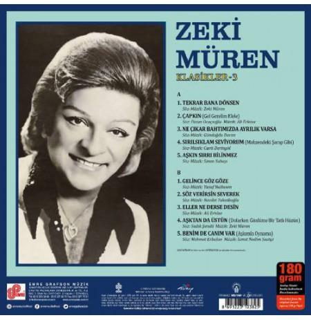 ZEKİ MÜREN KLASİKLER-3 LP.
