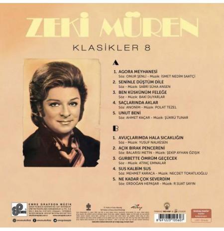 ZEKİ MÜREN KLASİKLER-8 LP.