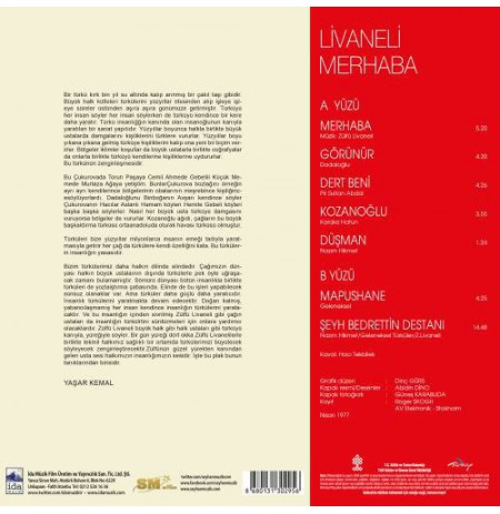 ZÜLFÜ LİVANELİ  MERHABA LP.
