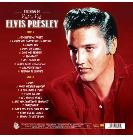 ELVIS PRESLEY The King Of Rock'n Roll LP.