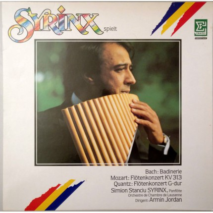 Syrinx Spielt Bach, Mozart, Quantz KLASİK LP.
