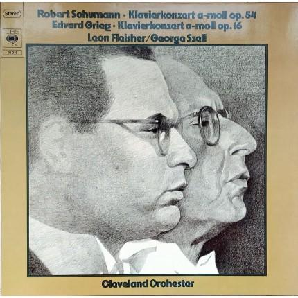 Robert Schumann, Edvard Grieg, Leon Fleisher, George Szell, Cleveland Orchestra KLASİK LP.