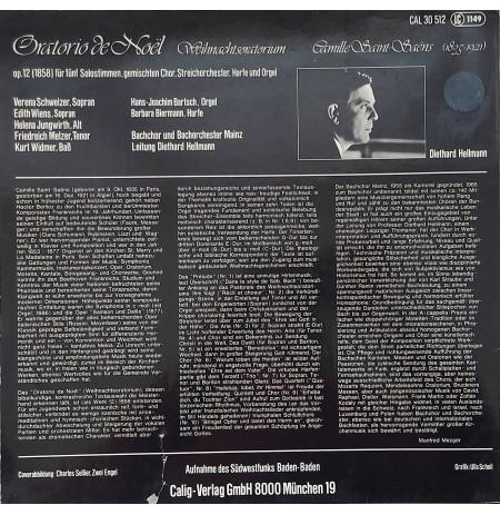 Camille Saint-Saëns, Oratio De Noël Op.12 LP.