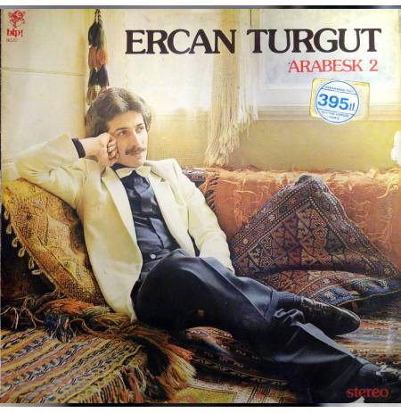 ERCAN TURGUT ARABESK 2 LP. PLAK