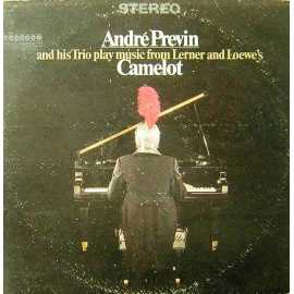 ANDRE PREVIN CAMELOT LP. PLAK