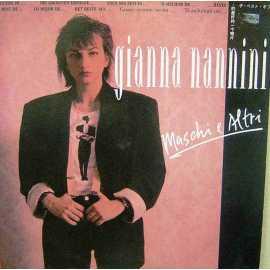 GIANNA NANNINI MASCHI e ALTRI 1987 LP.