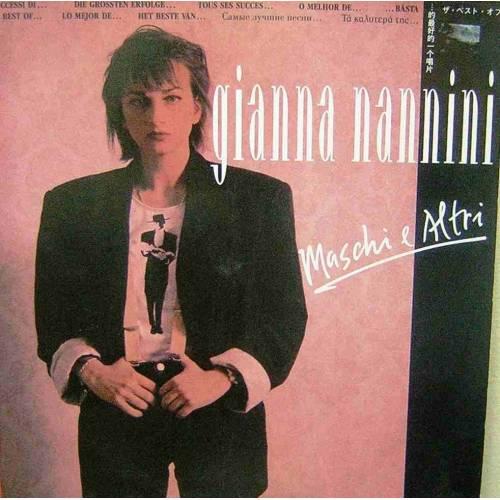 GIANNA NANNINI MASCHI E ALTRI LP. PLAK