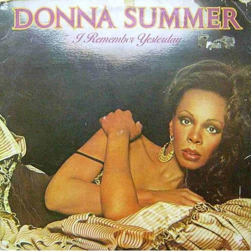 DONNA SUMMER  I REMEMBER YESTERDAY LP. PLAK