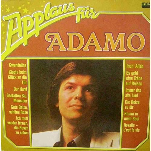 ADAMO APPLAUS FUR 1981 LP. PLAK