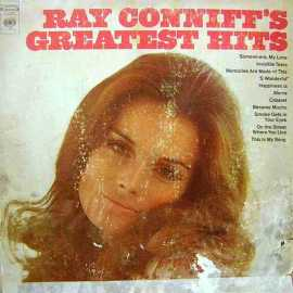 RAY CONNIFF GREATEST HITS LP. PLAK