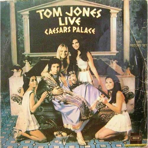 TOM JONES LIVE AT CAESARS PALACE LP. PLAK