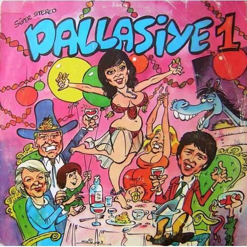 AYSEL  EBRU SAKARYALI - DALLASIYE 1 LP. PLAK