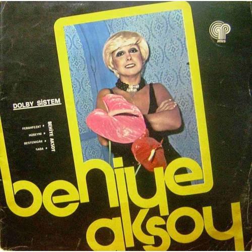 BEHIYE AKSOY UNUTULMAYAN ŞARKILAR KONSERI 1976 LP. PLAK