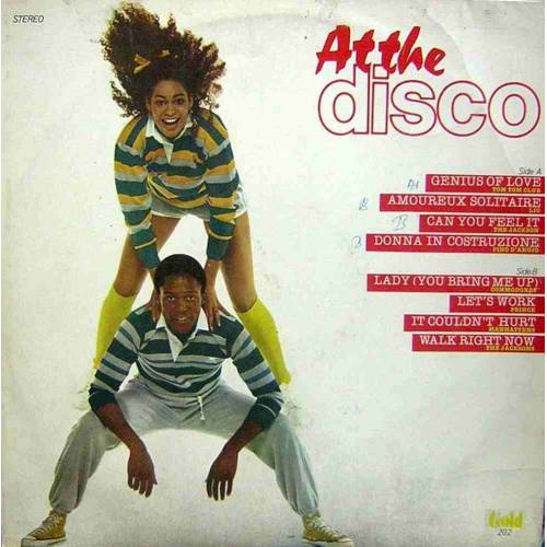 AT THE DISCO 80' ler KARMA DISCO LP.