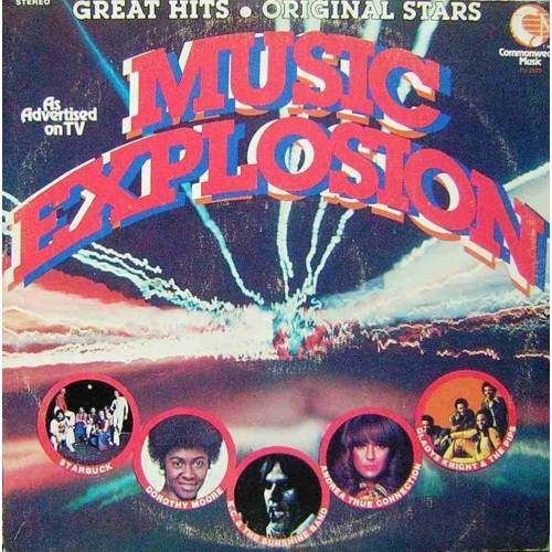 MUSIC EXPLOSION 70' ler KARMA POP LP.