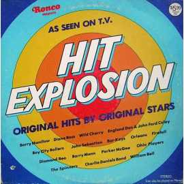 HIT EXPLOSION 70' ler KARMA POP LP.