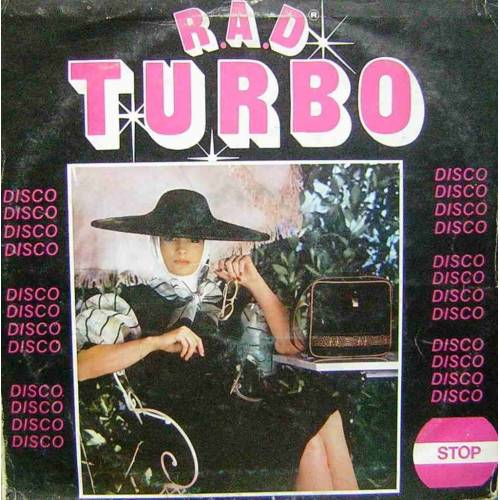R.A.D.  TURBO 80'ler KARMA DISCO LP.