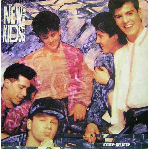 NEW KIDS ON THE BLOCK - STEP BY STEP LP. PLAK