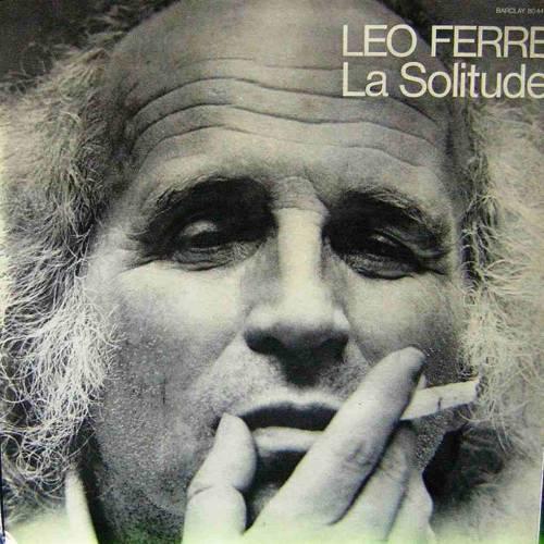 LEO FERRE - LA SOLITUDE LP. PLAK