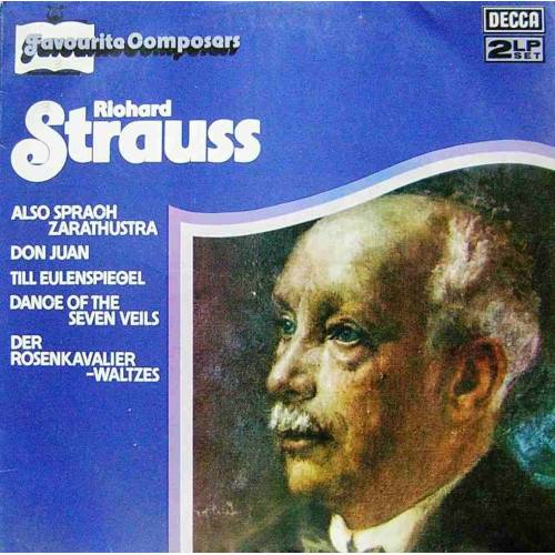 RICHARD STRAUSS, FAVOURITE COMPOSERS  KLASIK DOUBL PLAK