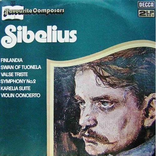 SIBELIUS, FAVOURITE COMPOSERS  KLASİK DOUBLE LP. PLAK