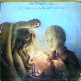 THE MOODY BLUES EVERY GOOD BOY DESERVES FAVOUR LP. PLAK