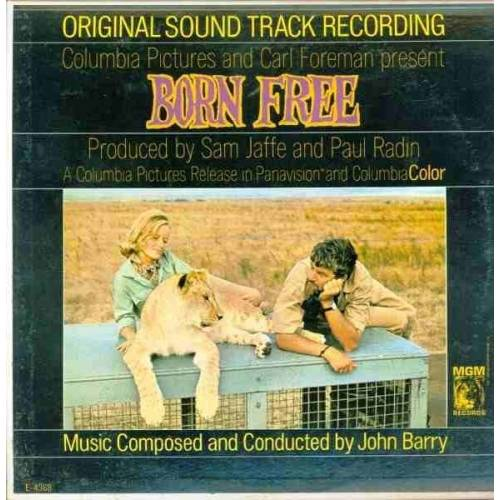 JOHN BARRY BORN FREE ORIGINAL SOUND TRACK RECORDIN PLAK