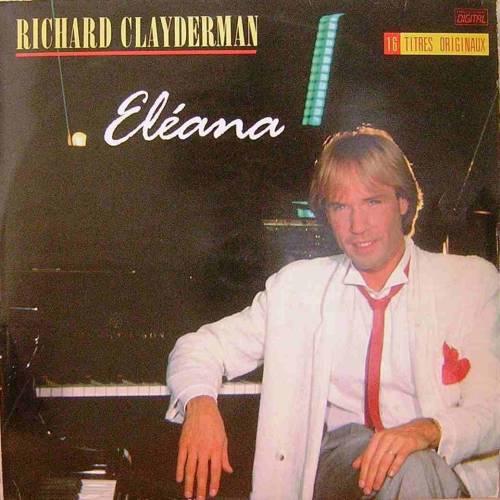 RICHARD CLAYDERMAN ELEANA LP. PLAK