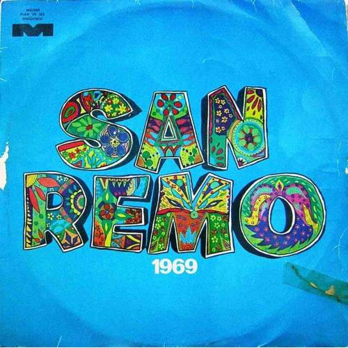 SAN REMO 1969 LP. PLAK