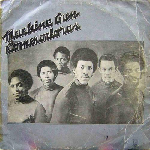 COMMODORES MACHINE GUN LP. PLAK
