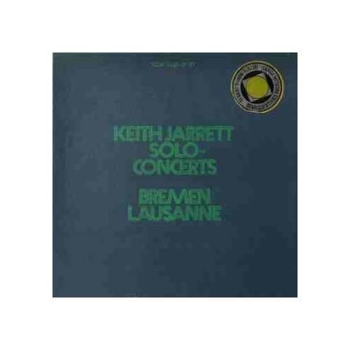 KEITH JARRETT SOLO-CONCERTS: BREMEN/LAUSANNE 3 LP. PLAK
